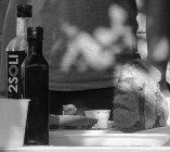Extravergin organic olive oil tasting