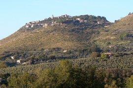 the hill where Fara Sabina is located