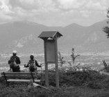 Panoramica sulle valli tra Umbria e Lazio