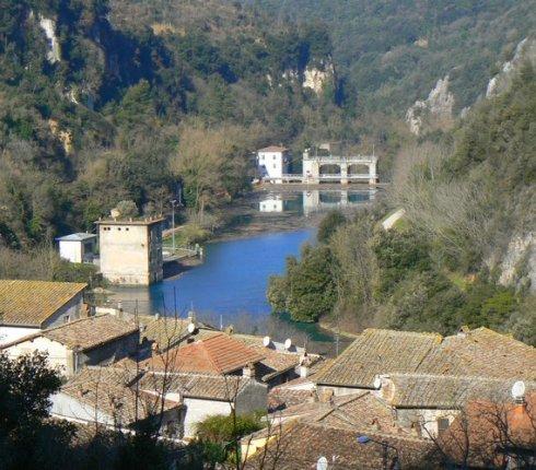 Il paesaggio fluviale di Stifone